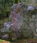Rock Climbing Photo: Cheech