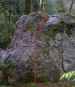 Rock Climbing Photo: Chong
