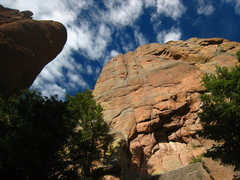 Rock Climbing Photo: Left side of the crag. Unfortunately the rock qual...