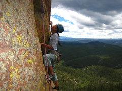 Rock Climbing Photo: The splendor of Devil's Head.