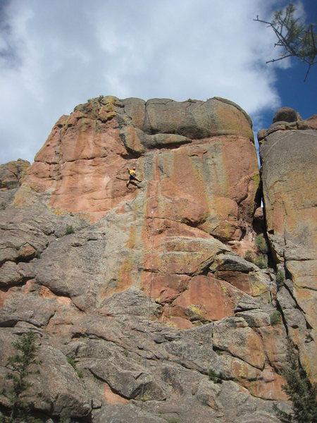 Rock Climbing Photo: OS success!