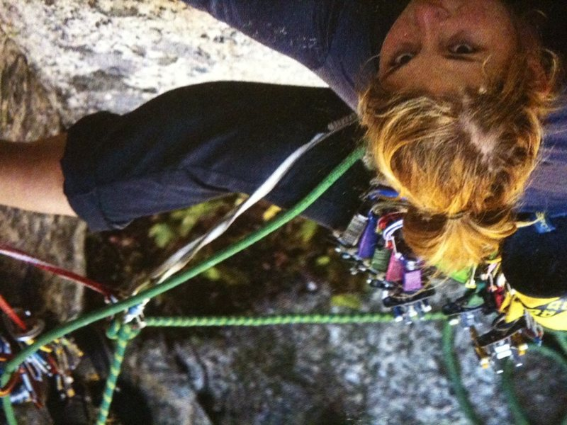 Rock Climbing Photo: From the mag2