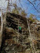Rock Climbing Photo: Rainbow. Good 5.6.