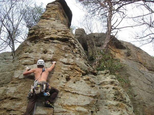 Rock Climbing Photo: Arrowhead in the Red River Gorge.