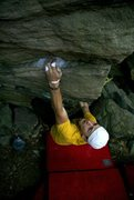 Rock Climbing Photo: Bouldering in Cooper's Rock, WV