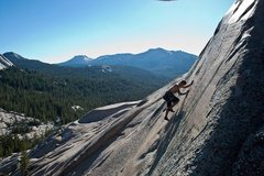 Rock Climbing Photo: Slabs in Tuolumne Meadows in Yosemite National Par...