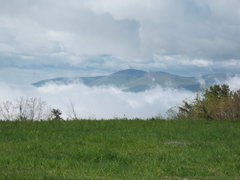 Rock Climbing Photo: near Calf Mountain...looking south towards Humpbac...