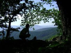 Rock Climbing Photo: shade
