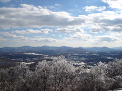 Rock Climbing Photo: winter view from Rockfish Gap area