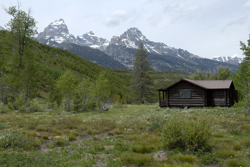 Rock Climbing Photo: Grand Teton Climbers' Ranch.