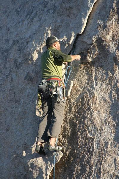Rock Climbing Photo: Eric on Diamond Dogs.