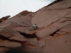 Rock Climbing Photo: Redemption Song. Ouch my thumbs hurt!