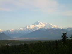 Rock Climbing Photo: Denali after 4 days of weather finally comes out.