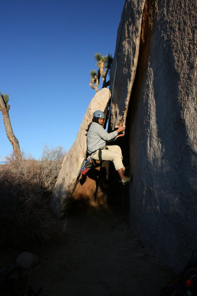 Rock Climbing Photo: Albert on Diamond Dogs.
