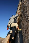Rock Climbing Photo: Albert on Diamond Dogs.