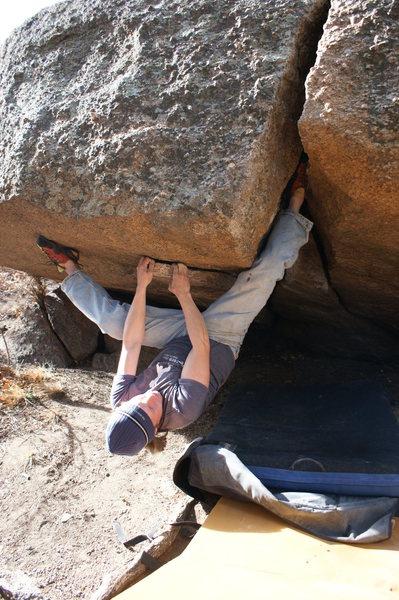 Rock Climbing Photo: Me on a classic.