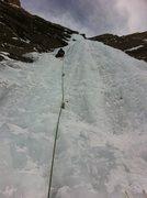 Rock Climbing Photo: Leading P3