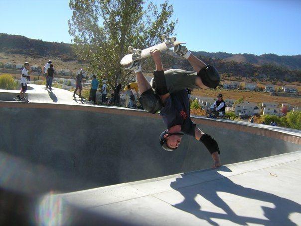 Roxborough skatepark <br> &quot;rest day&quot; activities