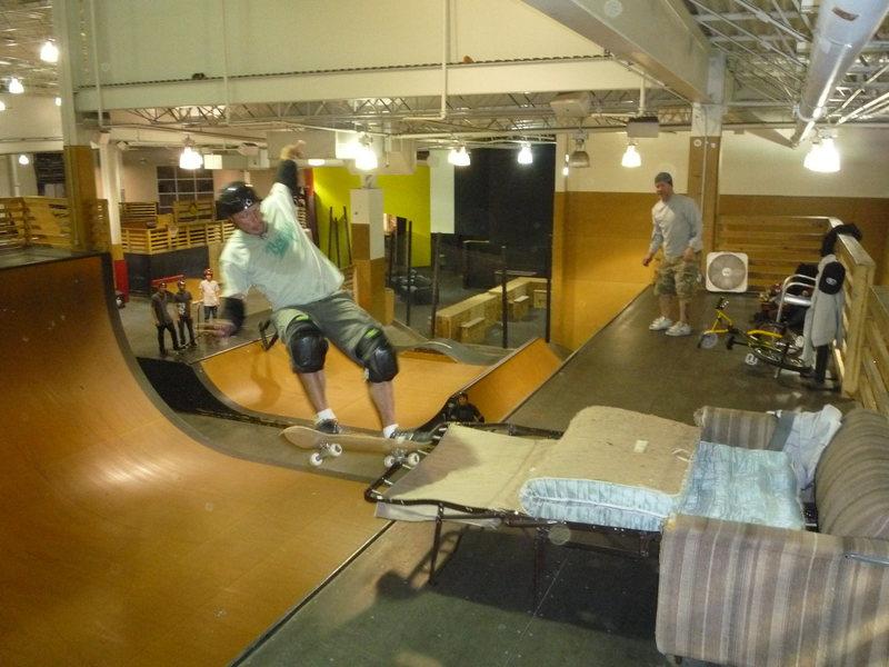 sofa stunts
