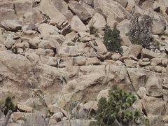 Rock Climbing Photo: can you find Waldo?