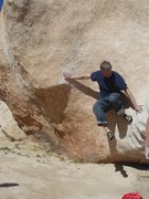 Rock Climbing Photo: struggling... on some of the classics