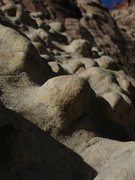 Rock Climbing Photo: knobs...  great rock with cool features and colors
