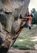 Rock Climbing Photo: Working a Gill Classic...