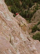 "Rock Climbing Photo: Final pitch of ""Cluck You"""