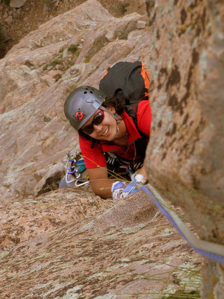 "Rock Climbing Photo: Exit Pitch on ""Cluck You"""