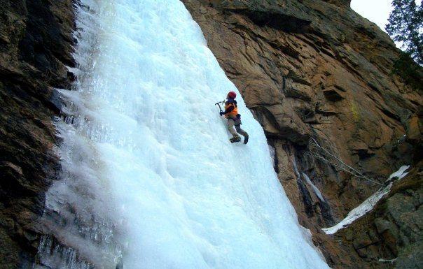Rock Climbing Photo: Winter meditations...