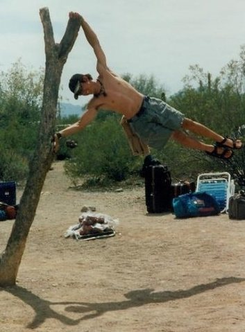 Rock Climbing Photo: Down in Mexico...can't wait to get out of camp!!!
