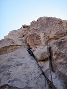 Rock Climbing Photo: chains at top can be used for both routes Irritato...