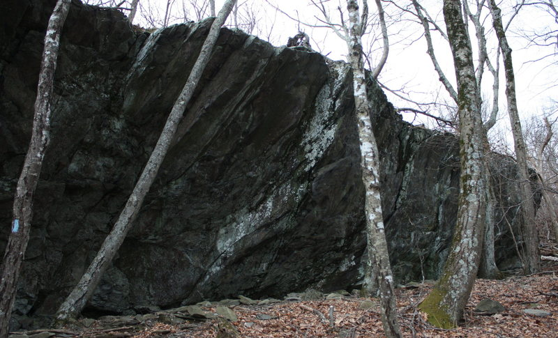 Rock Climbing Photo: right half of boulder stretch