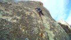 Rock Climbing Photo: Pitch 5