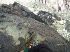 Rock Climbing Photo: Top of pitch 4