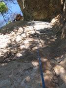 Rock Climbing Photo: Rob Beno leading Scorpion Exile