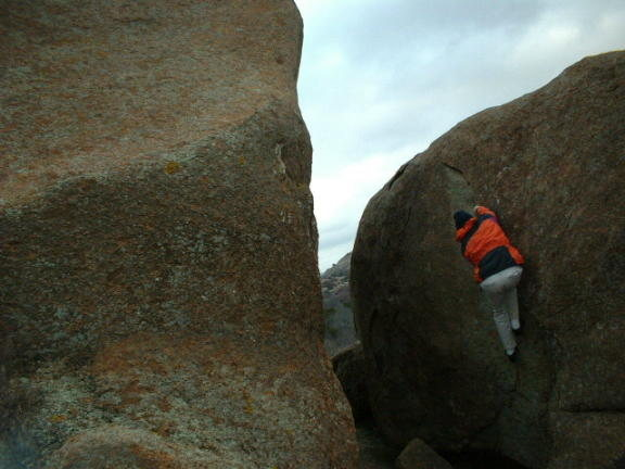 Rock Climbing Photo: This photo was taken  from the west side looking b...