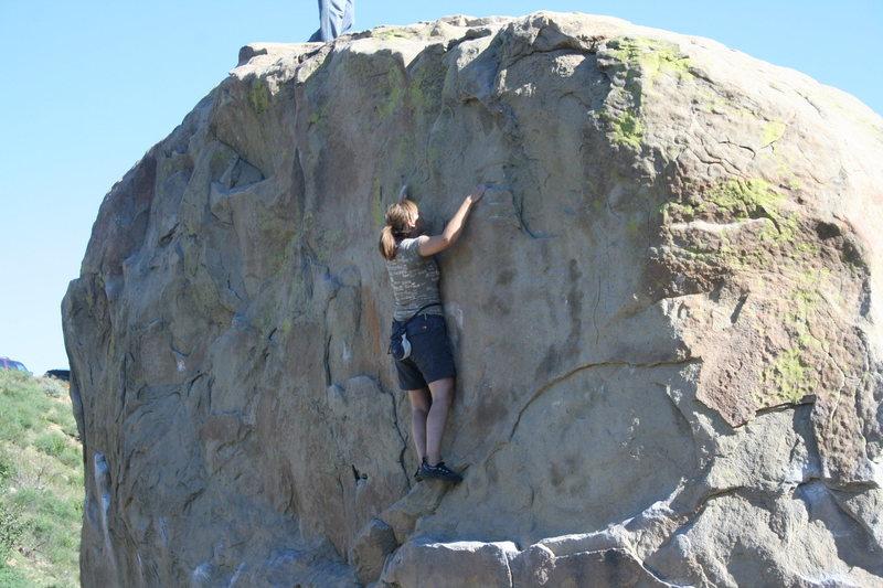 Agina on Boulder One.