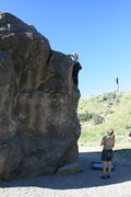 Rock Climbing Photo: Noelle on Boulder One.