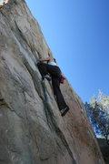 Rock Climbing Photo: Noelle on Mommy's Boys Left.