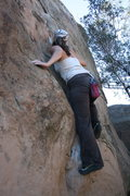 Rock Climbing Photo: Noelle on Mommy's Boys Right.