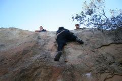 Rock Climbing Photo: RastaRaj on Mommy's Boys Right.