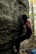 "Rock Climbing Photo: Aaron James Parlier on""European Smoothness&qu..."