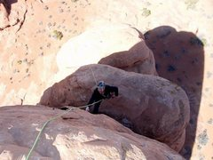Rock Climbing Photo: Somewhere in Arches