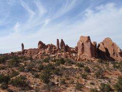 Rock Climbing Photo: Arches