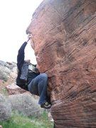 Rock Climbing Photo: bouldering on the globe/entrance boulder
