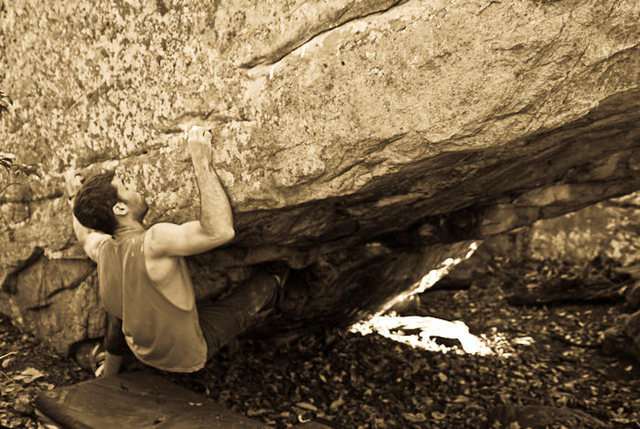 "Aaron James Parlier on ""Austin's Seam"" (V7)"