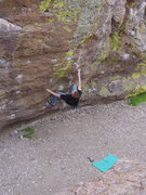 Rock Climbing Photo: Start of Wasabi.