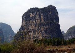 Rock Climbing Photo: South Face of Low Mountain. Yangshuo China.