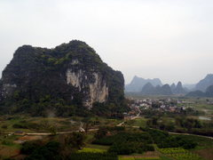 Rock Climbing Photo: Views Space Buttress from Monkey King